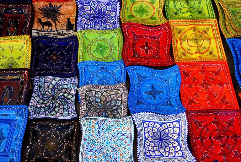 Bright colours of Hammamet